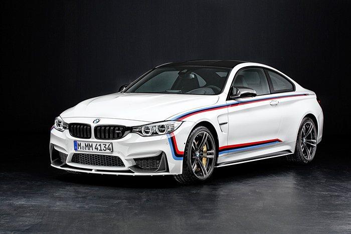 M Performance部門為M4也特別打造可以改善高性能跑車氣動力效應的氣動...