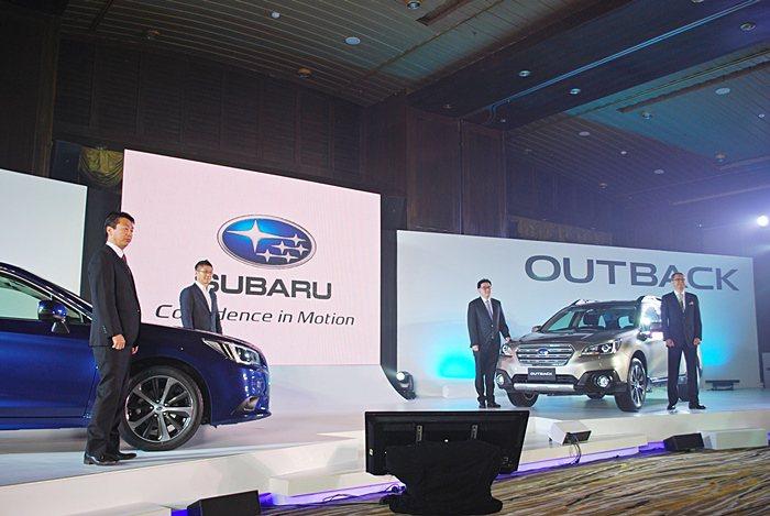 SUBARU在台灣市場的下一強棒:全新Legacy和跨界休旅Outback,於曼...