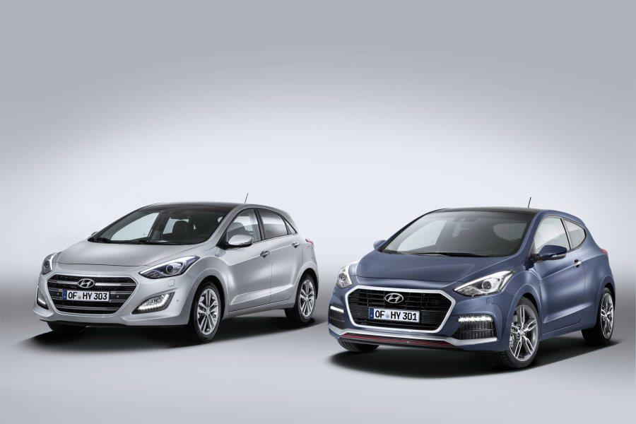 Hyundai在官網釋出最新小改款i30,新追加三門車型搭載渦輪增壓動力一併亮相...