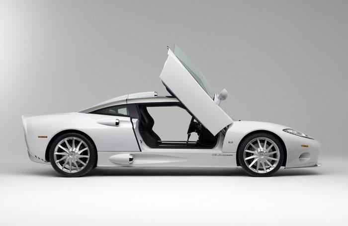 Spyker曾推出C8和C8 Laviolette等車款,圖為今年曾來台的C8 ...