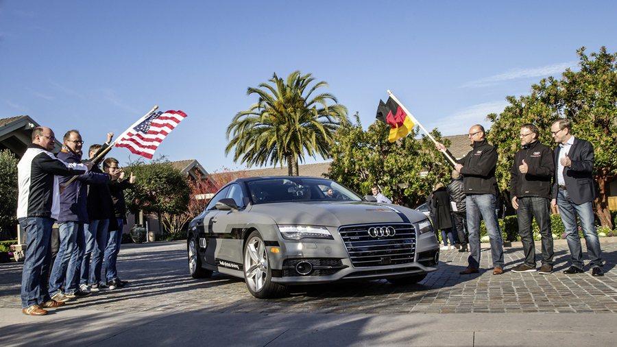 Audi在CES大展將展出結合最新自駕駛技術的Audi A7 Sportback...