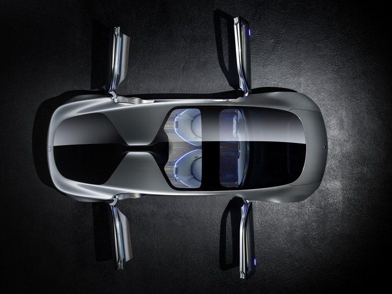 F 015還所有車門開啟角度可達到90度, Mercedes Benz提供