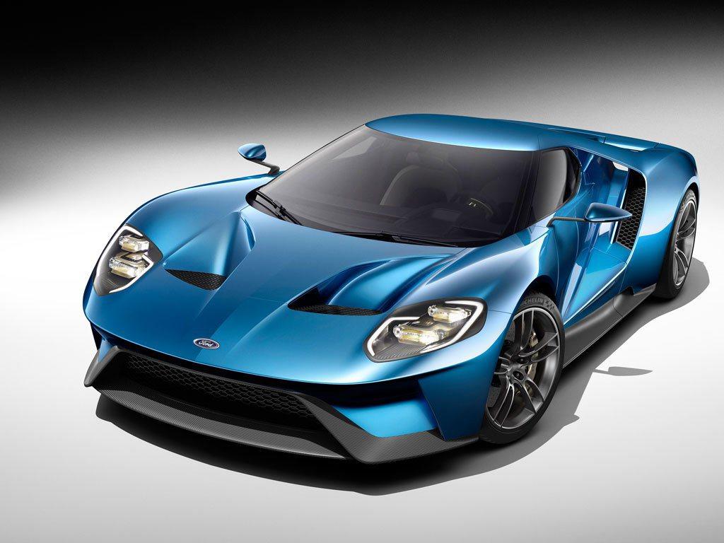 福特北美底特律國際車展發表全新Ford GT超跑,結合碳纖維輕量化科技,創造銳利...