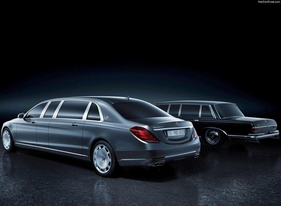 Mercedes-Maybach S600 Pullman以S系列的S600為基...