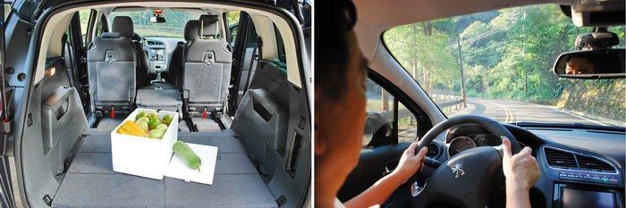5008空間寬敞並配備抬頭顯示器。 記者趙惠群/攝影