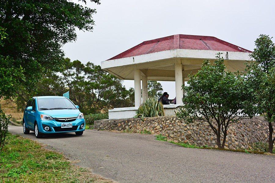 大平山頂有涼亭和觀景台可供小憩。 記者趙惠群/攝影