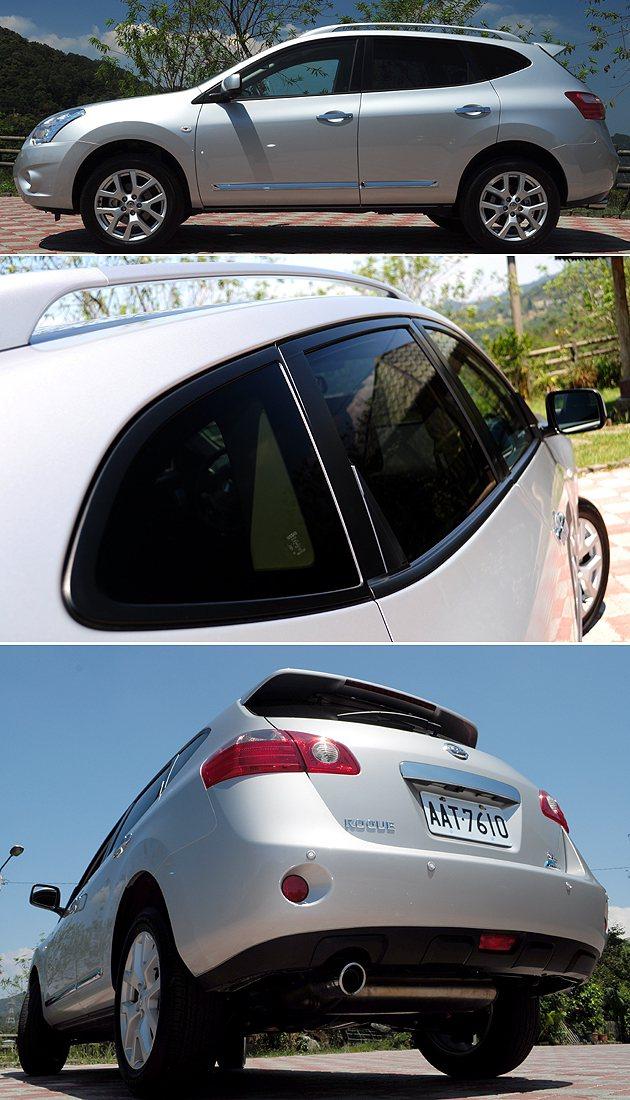 身長四米六,車尾線條可看出不少Nissan風格。 蔡志宇
