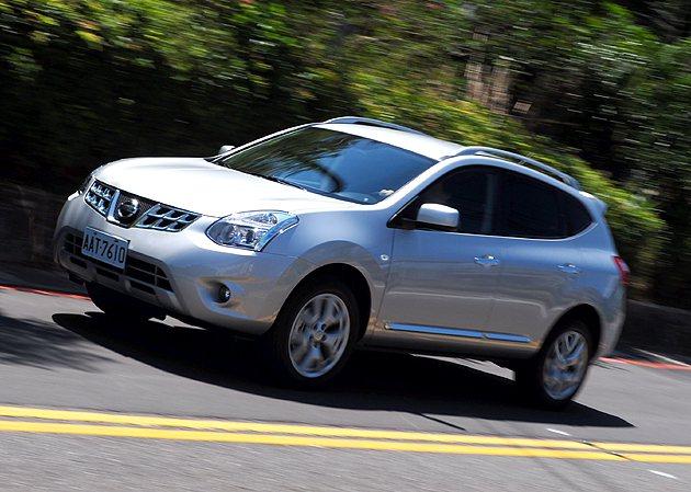 Nissan Rogue 2WD加速性需要多一點油門深度。 蔡志宇