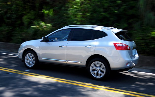 動態表現,Nissan Rogue 2WD依然表現不凡。 蔡志宇