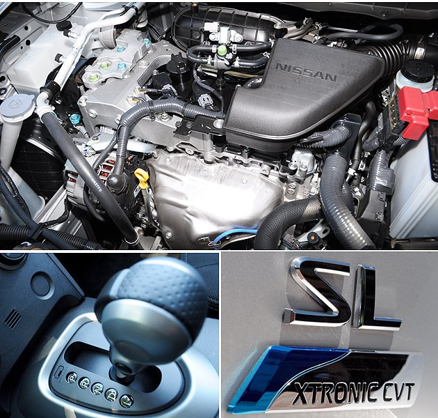 Nissan Rogue搭載2.5L直四引擎,搭配CVT變速箱,動力輸出平順。 蔡志宇