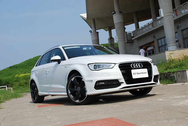 Audi全新3代A3 Sportback設計簡約銳利。 記者趙惠群/攝影
