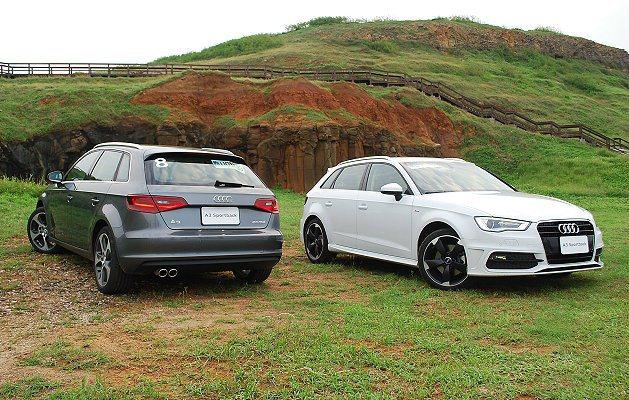 A3 Sportback有三款動力車型。 記者趙惠群/攝影