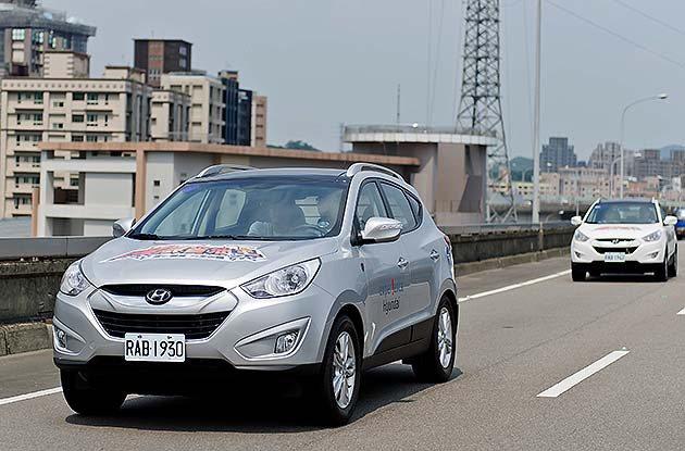 跟車也是節能的策略之一。 蔡志宇