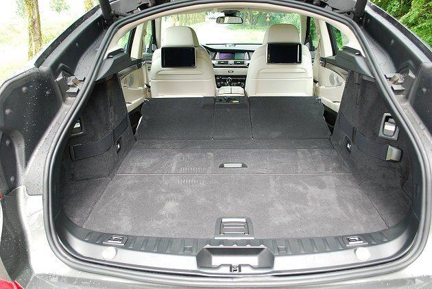 535i GT行李廂置物容積改款後獲得大幅增進。 記者趙惠群/攝影