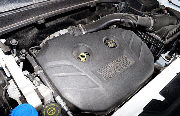 與Evoque相同的2.0 Si4 HSE 引擎。 蔡志宇