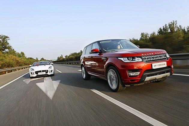公路試乘體驗。 Land Rover提供