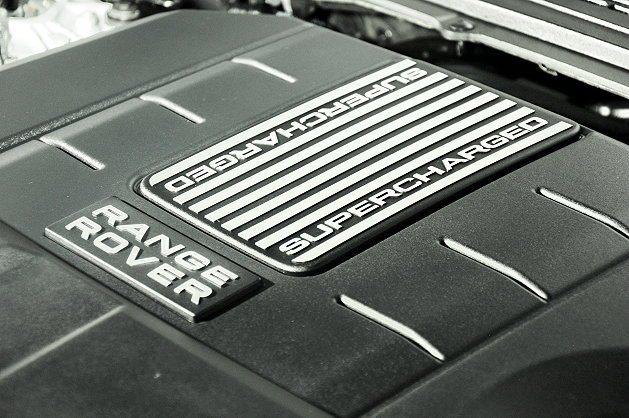 5.0升SuperCharged機械增壓引擎。 記者趙惠群/攝影