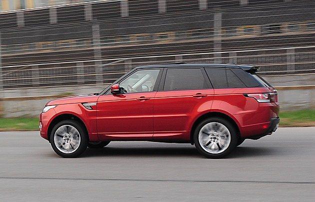 Range Rover Sport有強悍加速本事。 記者趙惠群/攝影