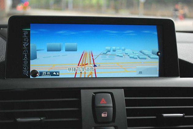 ConnectedDrive導航功能。 記者趙惠群/攝影
