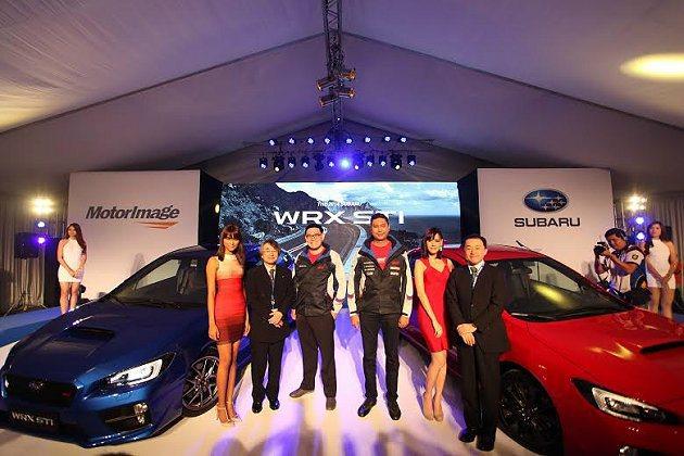 WRX和WRX STI在菲律賓馬尼拉舉行亞洲首發。 Subaru提供