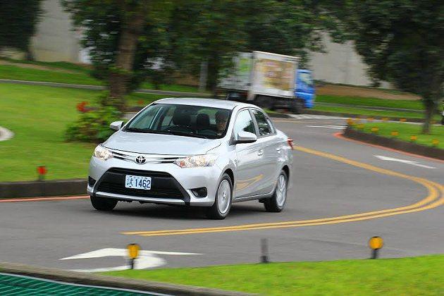 新一代Toyota Vios從外形內裝到操控乘坐,給了買家幸福最大公約數。 記者趙惠群/攝影
