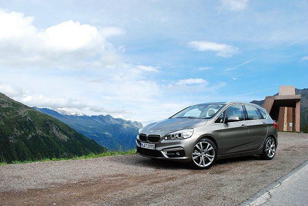 BMW原廠選擇在鄰近德國與奧地利交界的山區進行試駕。 記者趙惠群/攝影