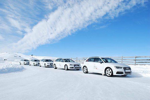 現役車款中領頭的S3 Sportback最能在雪地上表現靈活機動性。 記者趙惠群/攝影