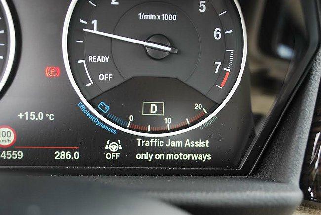 它也配有防駕駛分心的主動煞停功能Traffic Jam Assist交通壅塞輔助功能。 記者趙惠群/攝影