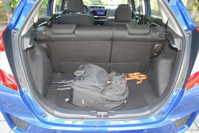 行李廂空間原本就有363升的容積,比大多數同級車優。 記者趙惠群/攝影