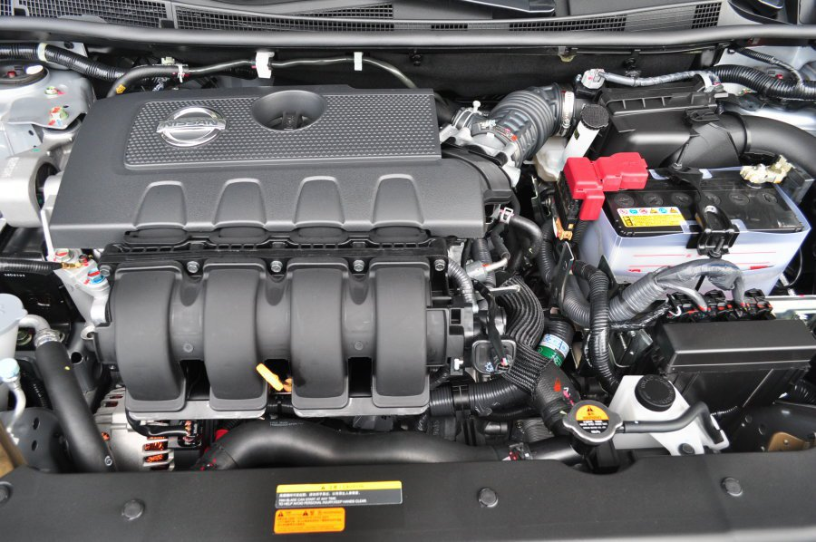 全新的1.8升Dual CVTC引擎,動力充足,節能性佳。 記者許信文/攝影