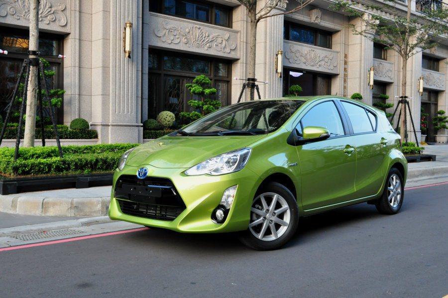 小改款Prius C也與日本市場幾乎同時期在國內上市,價格84.9萬微降價,C/P值提高。 記者許信文/攝影