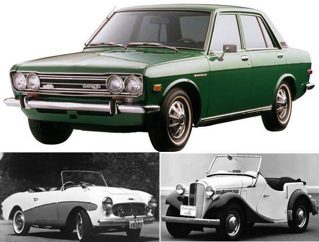 上圖為1968到1974年間產的生Datsun 510,它的設計受到BMW 1600-2激發。 Nissan
