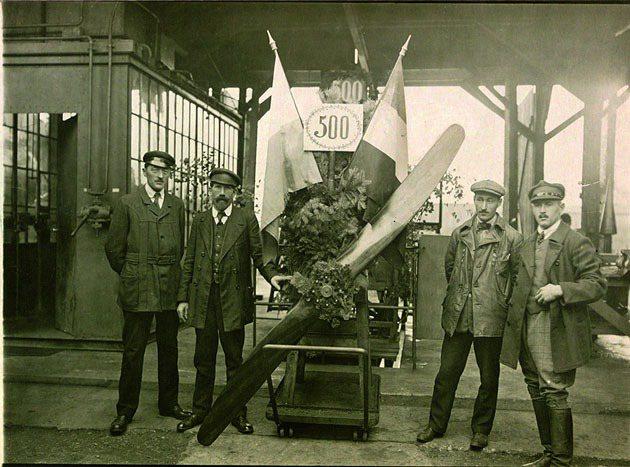 1918年BMW生產的IIIa發動機。 BMW