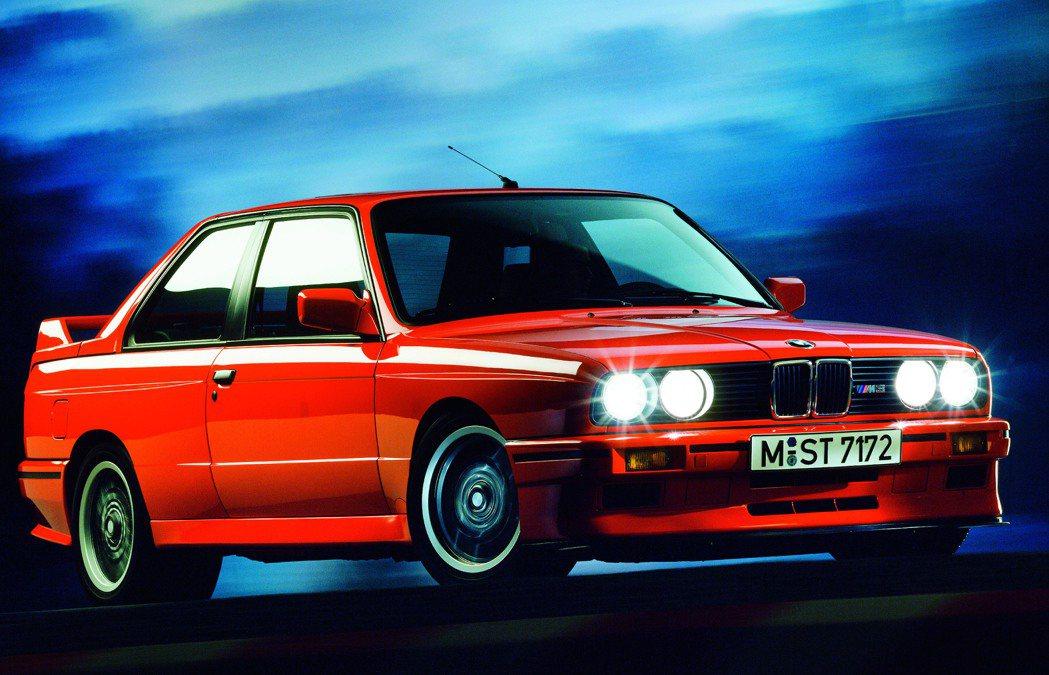 1988年問世代號E30的M3。 BMW