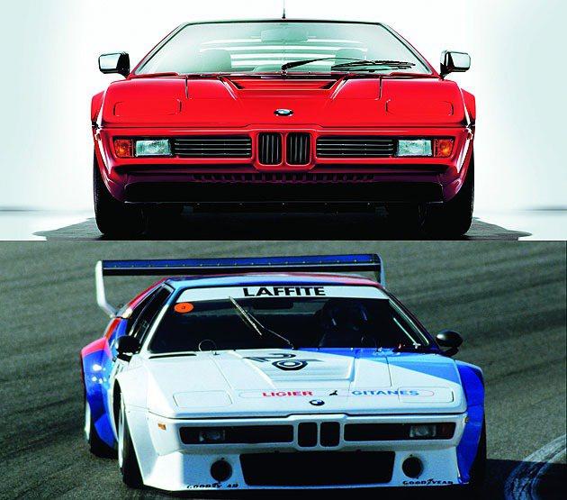 1978年的M1開啟BMW賽車之路。 BMW