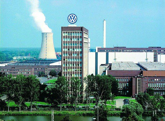 VW位於德國狼堡的總部。 Volkswagen
