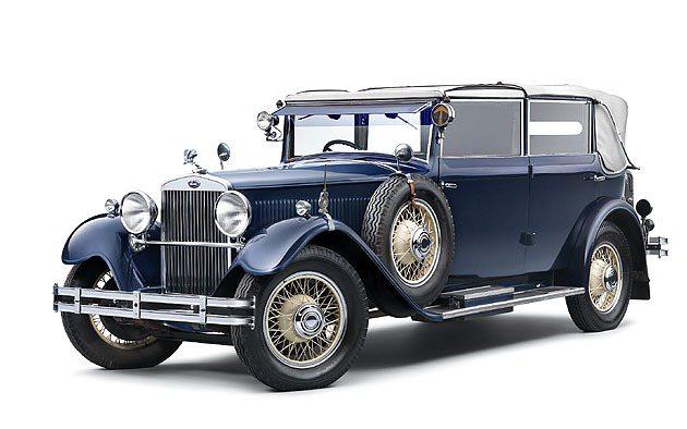 1932年生產的八缸豪華車款Skoda_860。