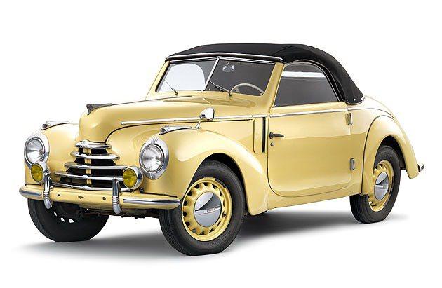 1948年的Skoda 1101 1102 Tudor。 Skoda