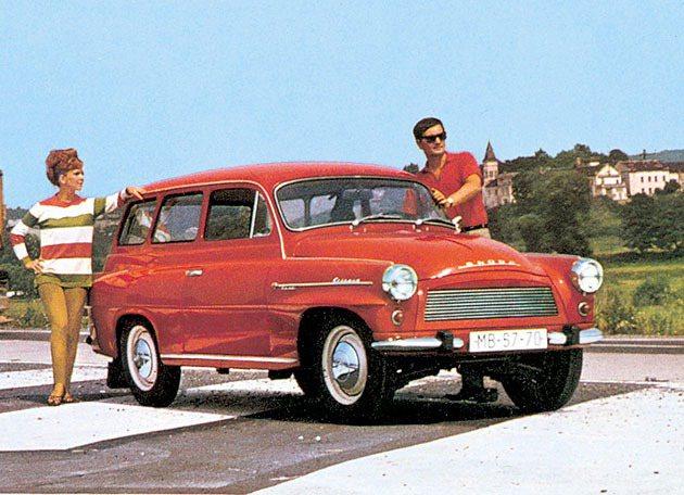 1961到1971年Skoda Octavia Combi共生產五萬四千多台。 ...