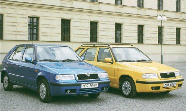 1998年小改款Skoda_Felicia_和Skoda_Felicia_Combi。 Skoda