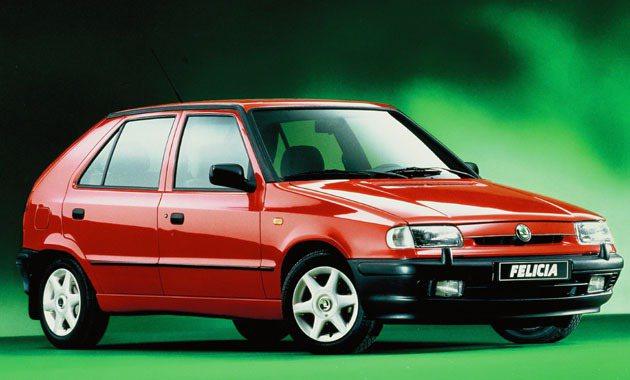 1994到2001年間生產的Skoda_Felicia Skoda