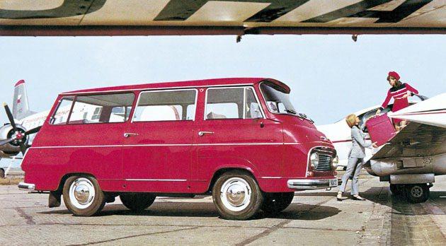 1968到1981年之間生產的廂型車Skoda 1203 Skoda