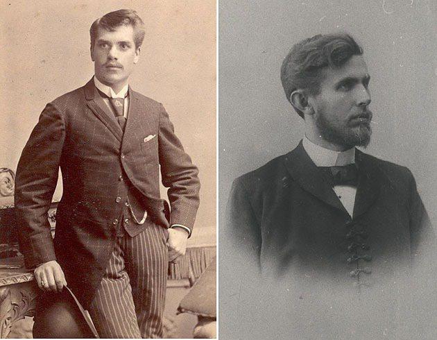 Vaclav_Klement與Vaclav_Laurin(左) Skoda