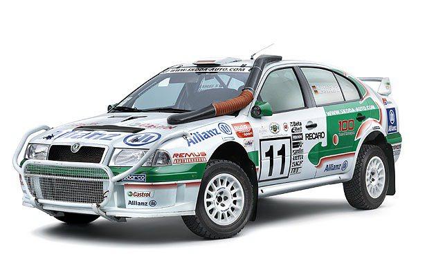 2003年參WRC越野賽的Skoda Octavia WRC數大馬力300匹,極...