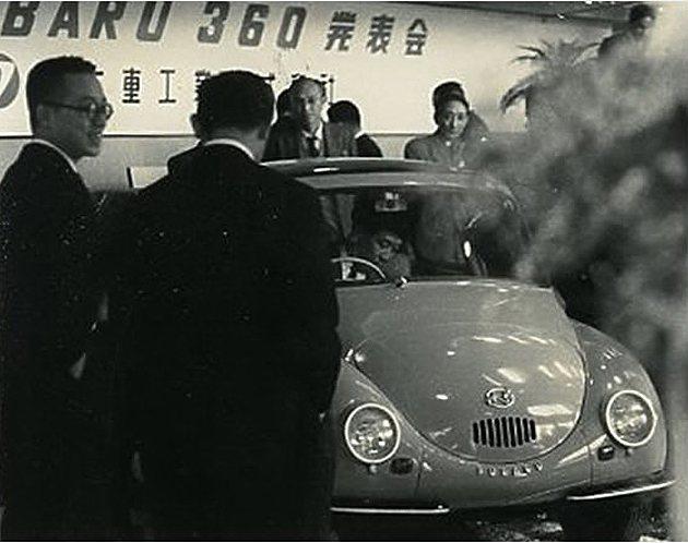 1950年代上市當時日本官方正全力倡導小型國民車,Subaru 360在當時被視...