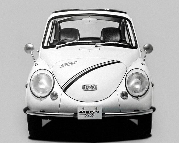 1968年推出的Subaru 360運動化版本Young SS。 Subaru