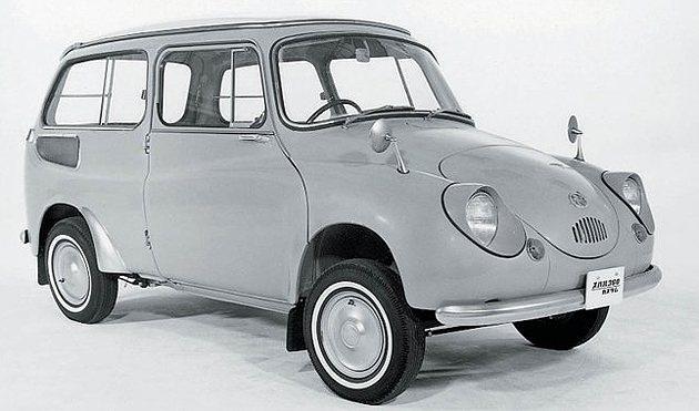 1963年Subaru 360 Custom特仕車。 Subaru