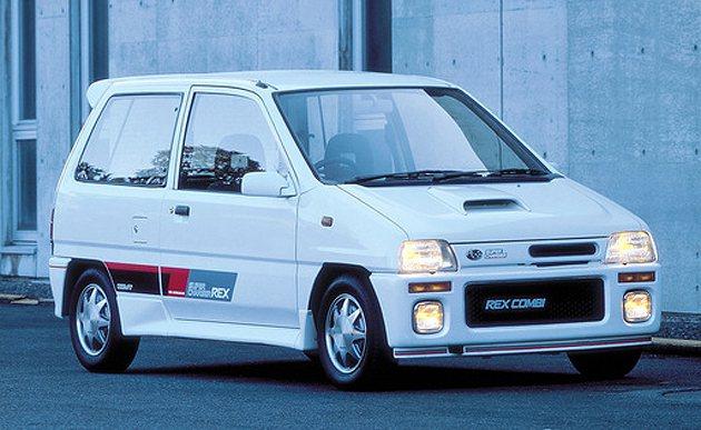 1988年上市的Rex。 Subaru