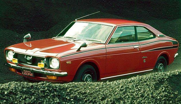 1972年第一代的Leone。 Subaru