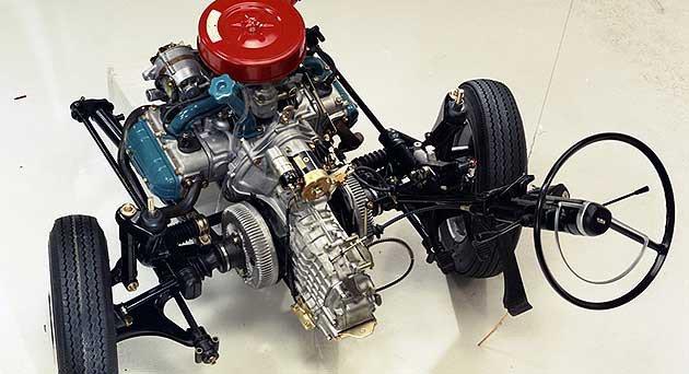 Subaru在1965年代就將採用水平對臥動力 Subaru
